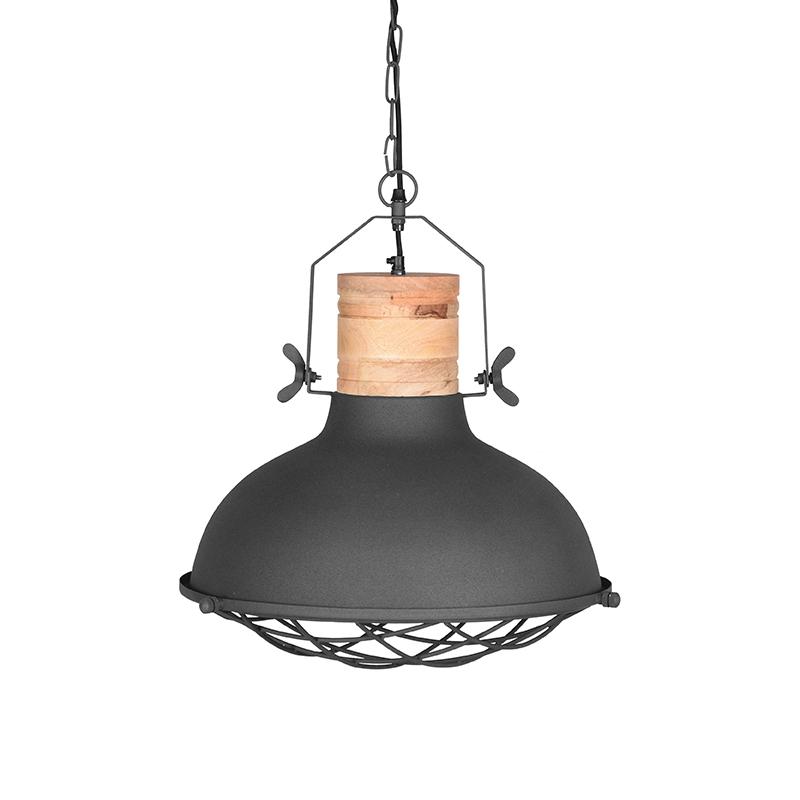 LABEL51 Hanglamp Grid - Grijs - Metaal