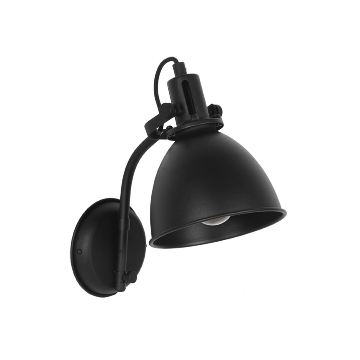LABEL51 Wandlamp Spot - Zwart - Metaal