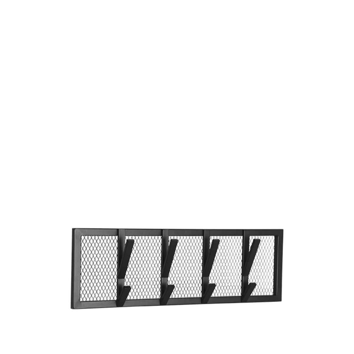 LABEL51 Kapstok Gruff - Zwart - Metaal - M