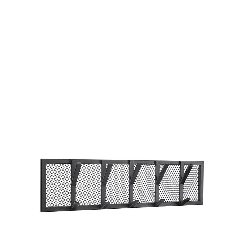 LABEL51 Kapstok Gruff - Zwart - Metaal - L