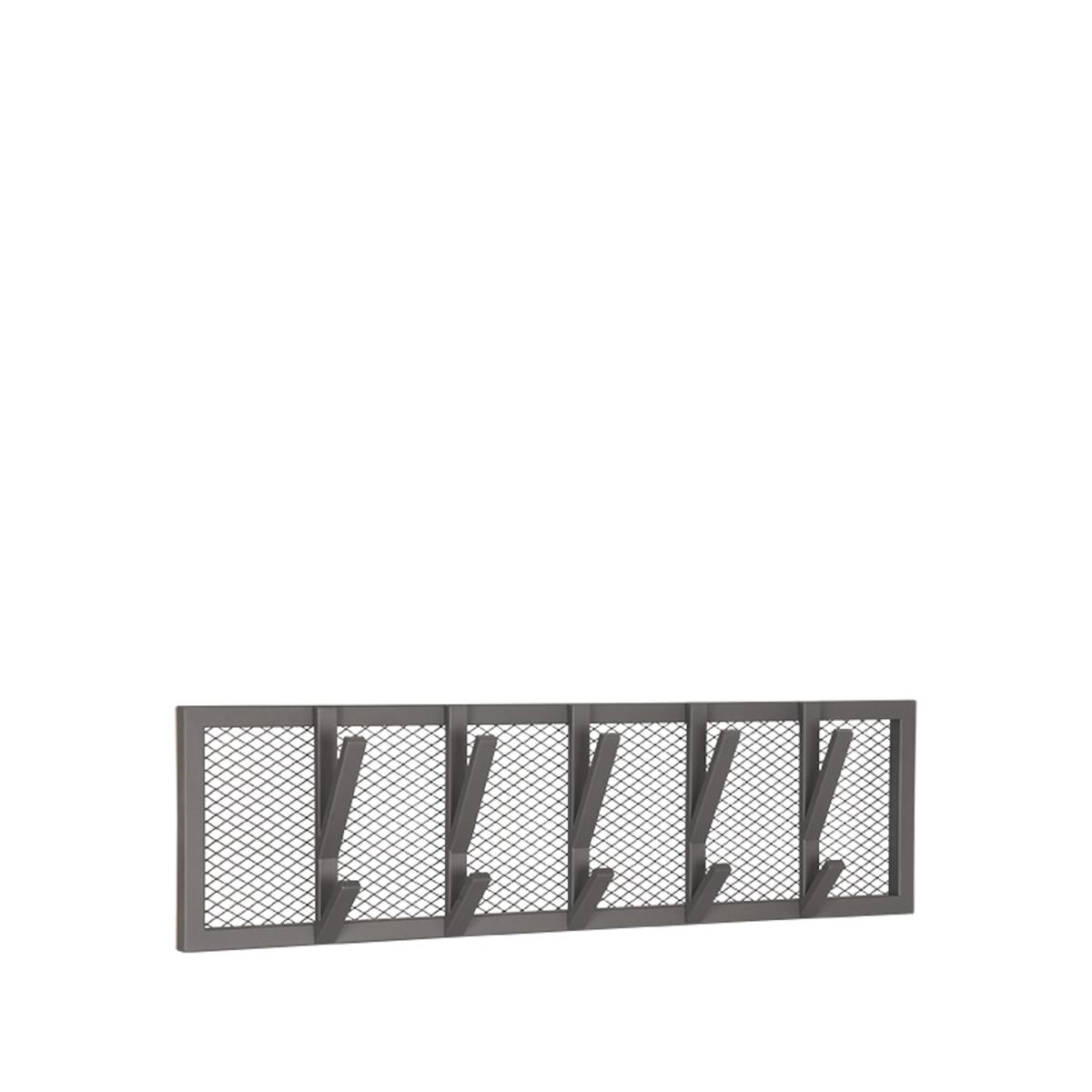 LABEL51 Kapstok Gruff - Burned Steel - Metaal - L