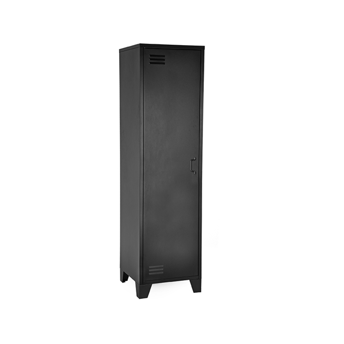 LABEL51 Bergkast Fence - Zwart - Metaal - 1 Deurs