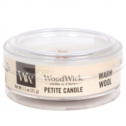 WW Warm wool Petite Candle