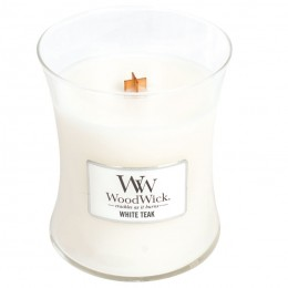 WW White Teak medium Candle