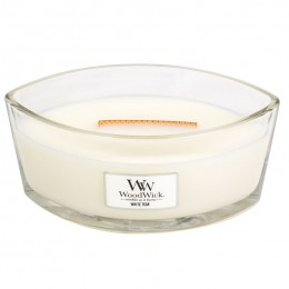 WW White teak Elipse Candle