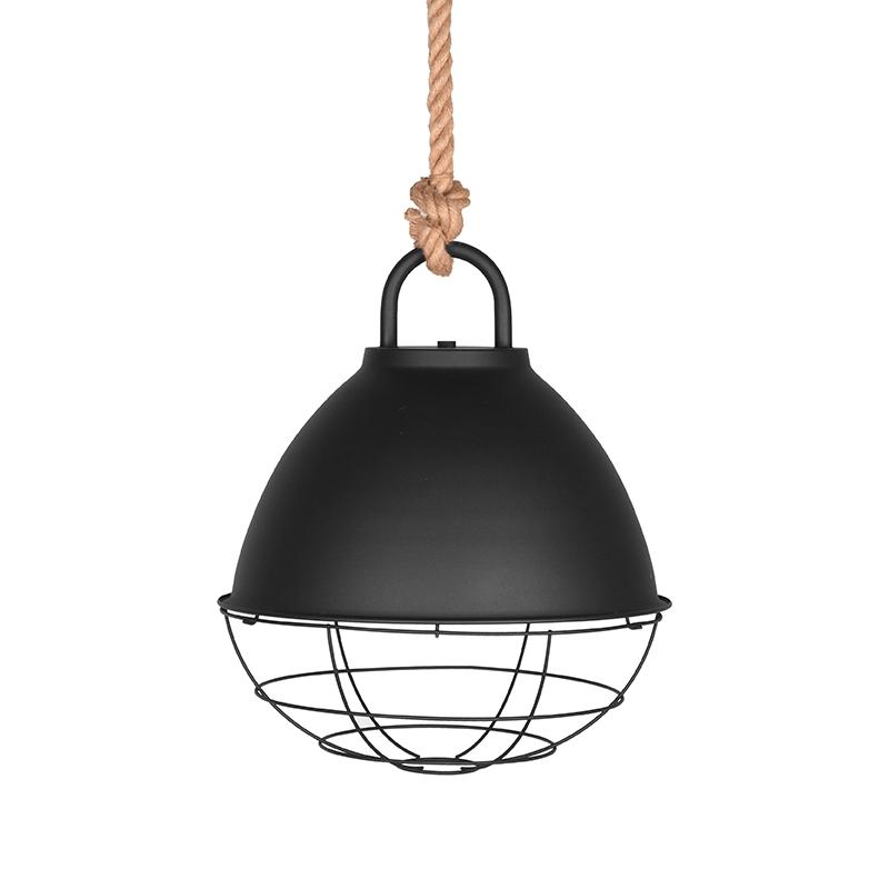 LABEL51 Hanglamp Korf - Zwart - Metaal - M