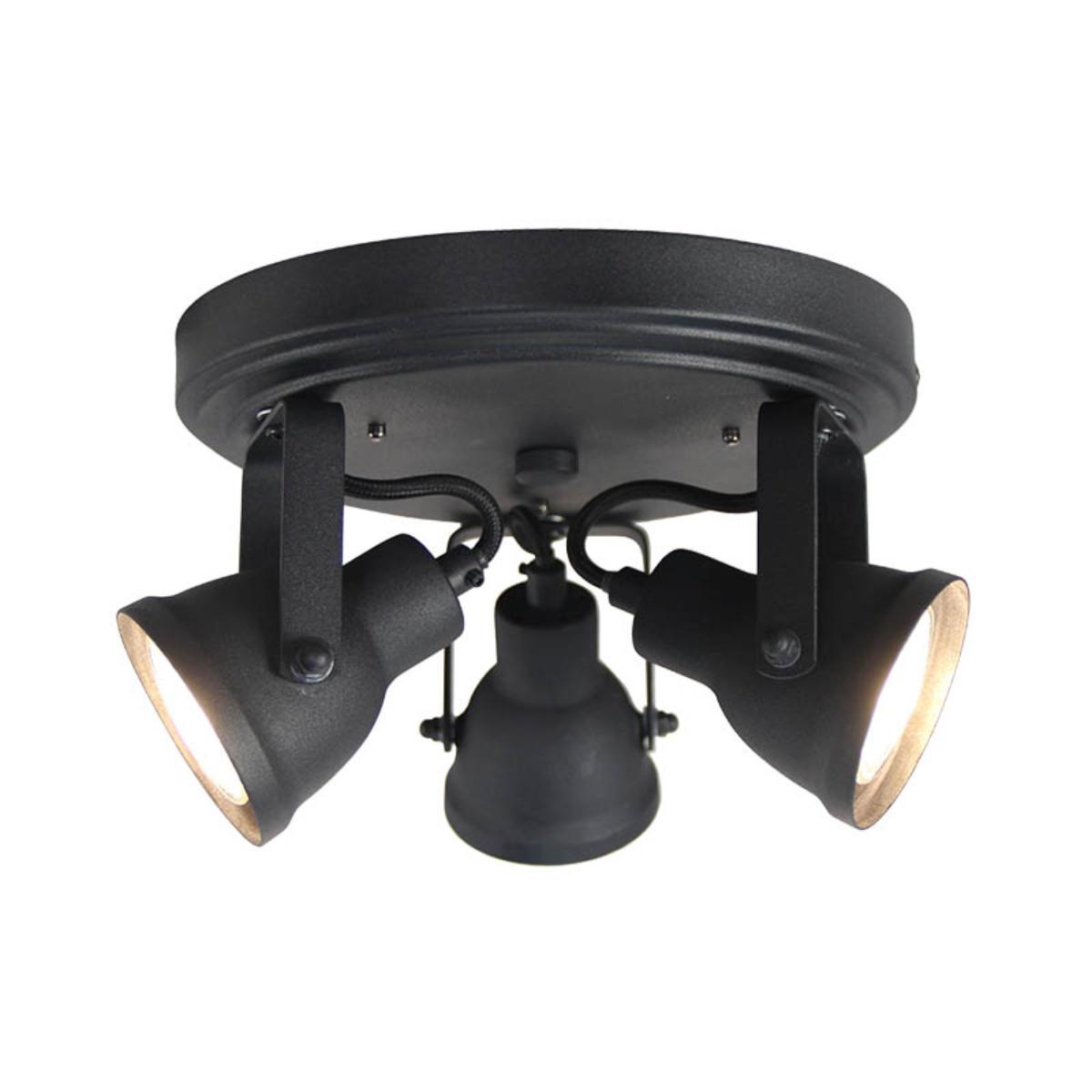 LABEL51 Spot Max led - Zwart - Metaal - 3 Lichts