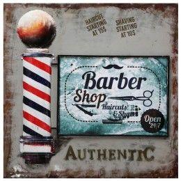 USA Sign Barbershop