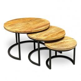 Noah salontafelset rond