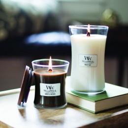 WW White Teak medium Candle