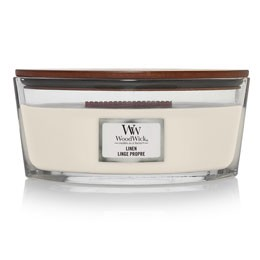 WW Linen Ellipse Candle