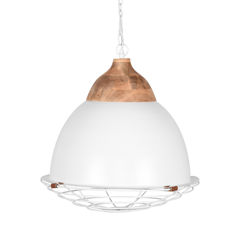 LABEL51 Hanglamp Rootz - Wit - Metaal