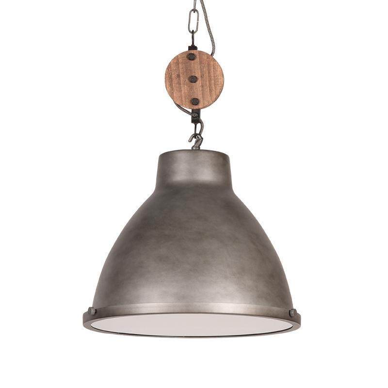 LABEL51 Hanglamp Dock - Grijs - Metaal