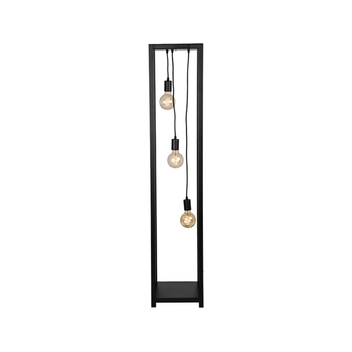 LABEL51 Vloerlamp Dangle - Zwart - Metaal