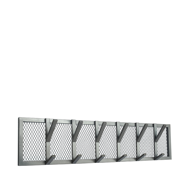 LABEL51 Kapstok Gruff - Burned Steel - Metaal - XL