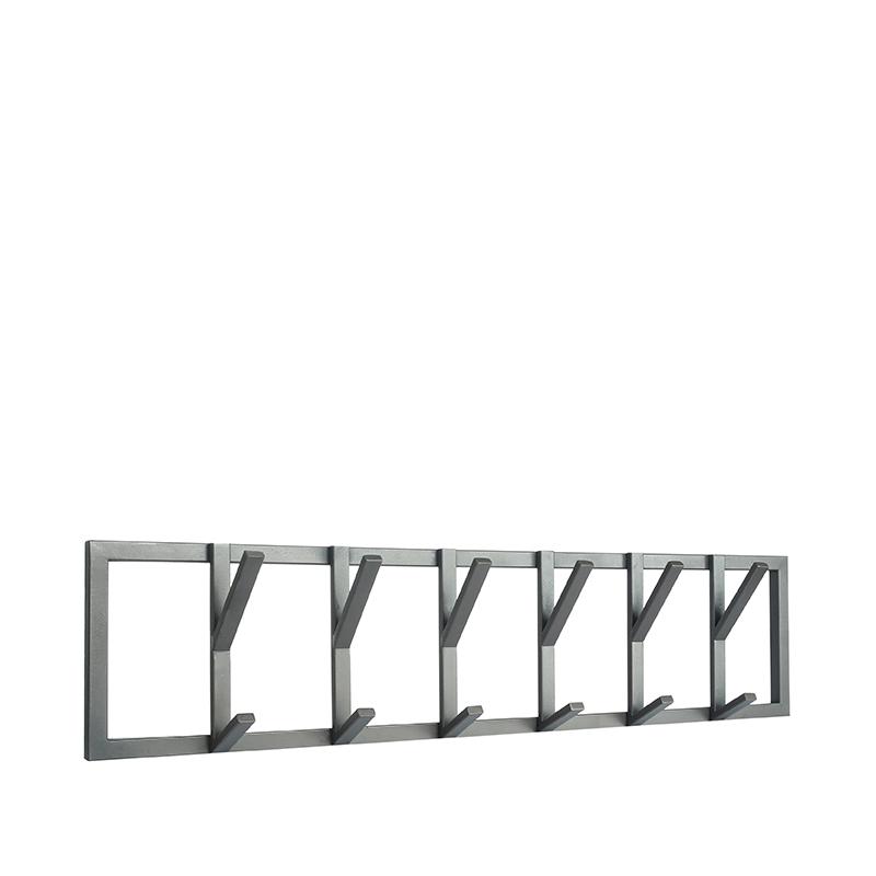 LABEL51 Kapstok Frame - Burned Steel - Metaal - XL