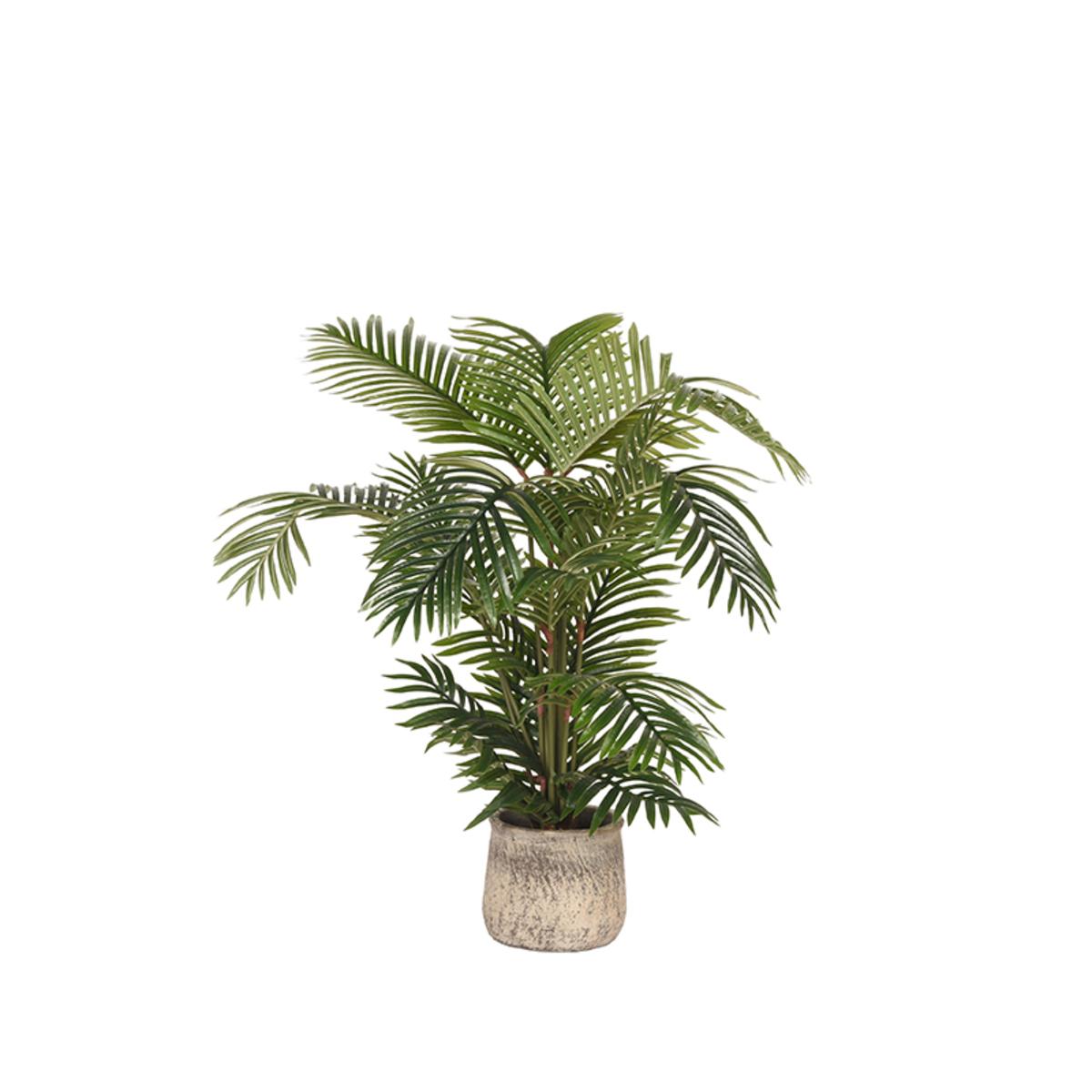 LABEL51  Artificial Plants Areca Palm - Groen - Kunststof - 110