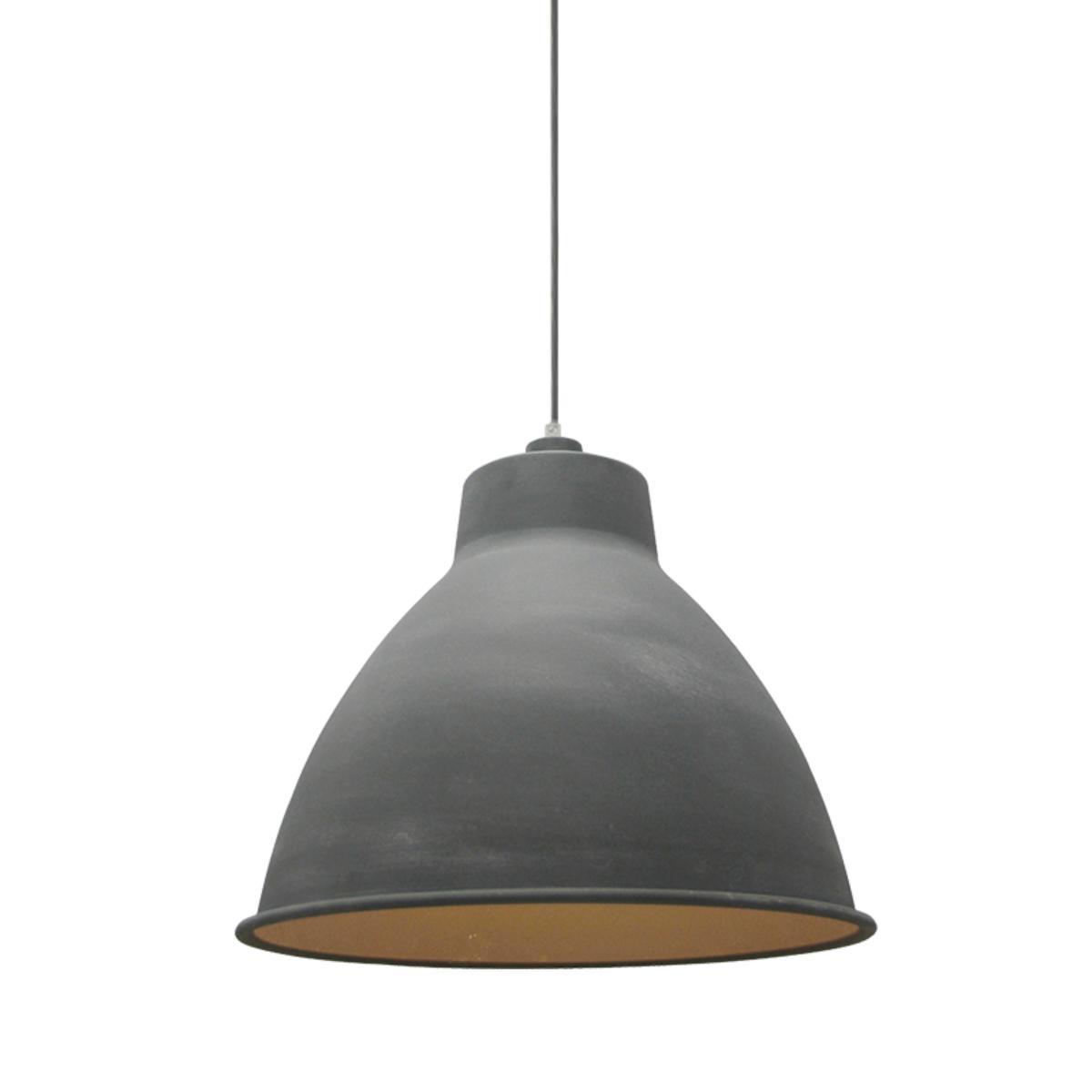 LABEL51 Hanglamp Dome - Grijs - Metaal