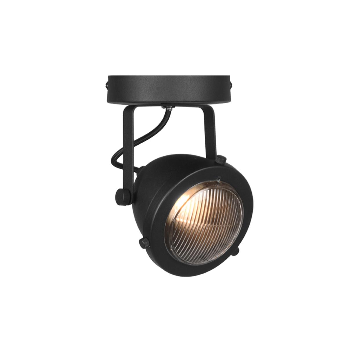LABEL51 Spot Moto led - Zwart - Metaal - 1 Lichts