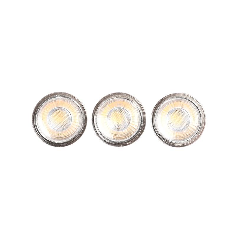 LABEL51 Lichtbron GU10 3 Stuks - Glas