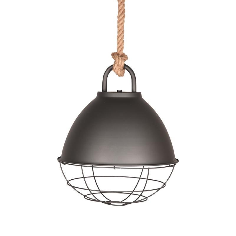 LABEL51 Hanglamp Korf - Burned Steel - Metaal - M