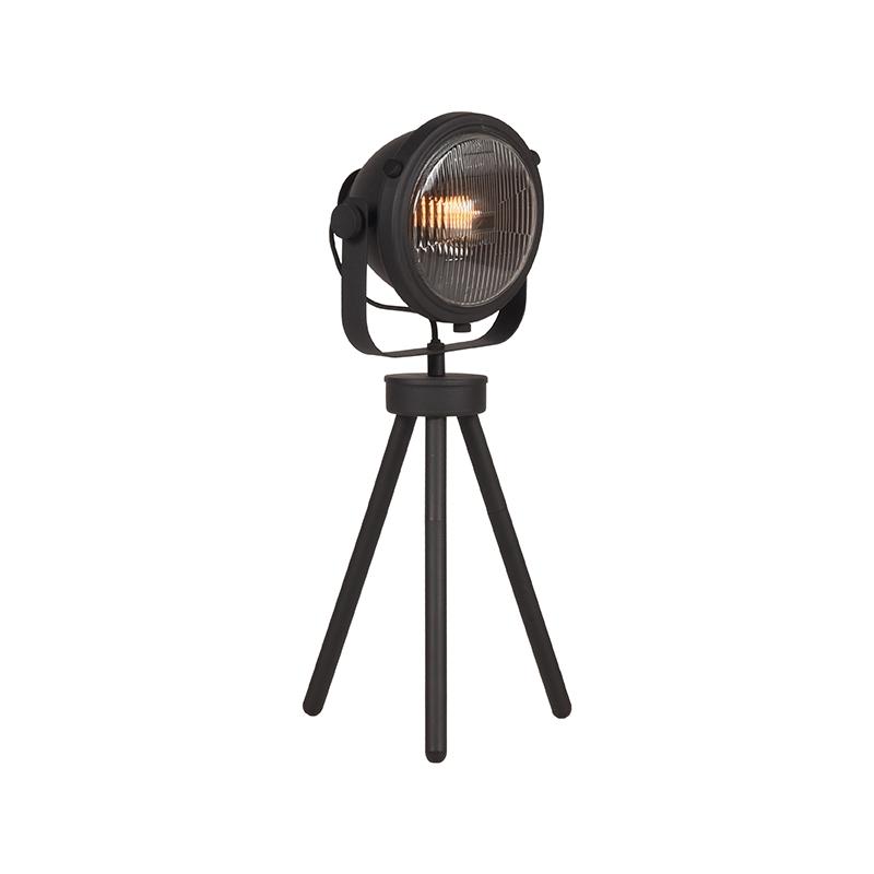 LABEL51 Tafellamp Tuk-Tuk - Zwart - Metaal