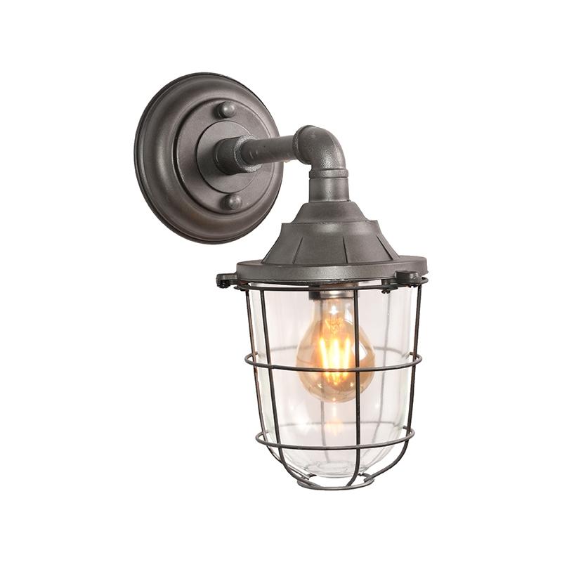 LABEL51 Wandlamp Seal - Burned Steel - Metaal