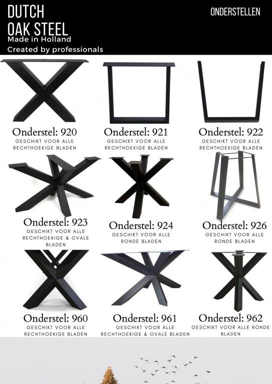 Dutch steel tafelpoot