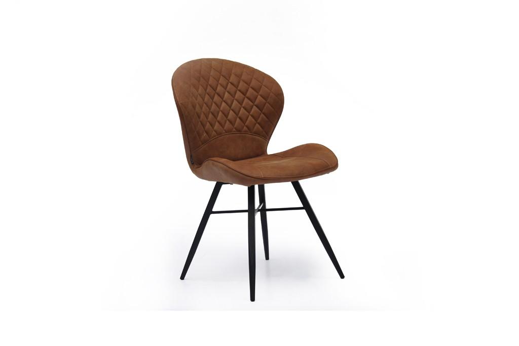Cognac Kleur Stoel : Glory robbies meubelen