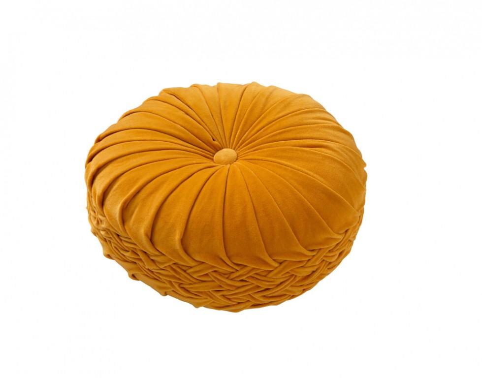 Sierkussen Kaja 40 cm. Golden glow