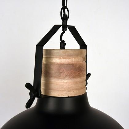 LABEL51 Hanglamp Grid - Zwart - Metaal - 52 cm