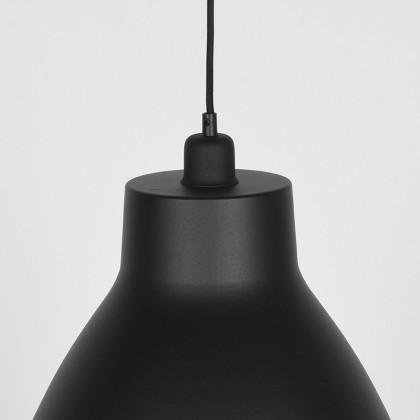 LABEL51 Hanglamp Dome - Zwart - Metaal