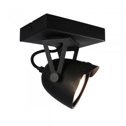 LABEL51 Spot Cap led - Zwart - Metaal - 1 Lichts