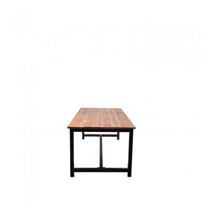 LABEL51 Eetkamertafel Ghent - Rough - Mangohout - 240x100 cm