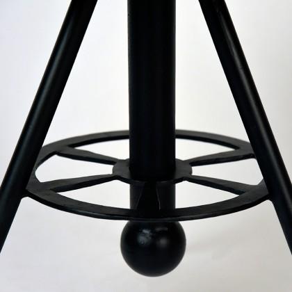 LABEL51 Bijzettafel Solid - Rough - Mangohout - Rond - 45 cm