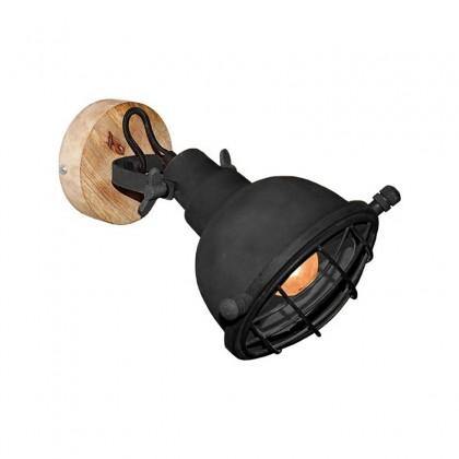 LABEL51 Wandlamp Grid - Zwart - Metaal