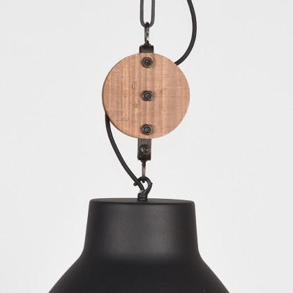 LABEL51 Hanglamp Dock - Zwart - Metaal