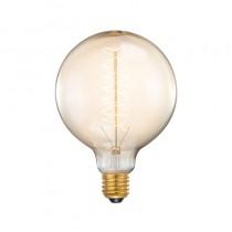LABEL51 Lichtbron Spiraallamp Bol - Glas - XL