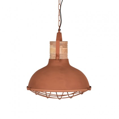 LABEL51 Hanglamp Grid - Rust - Metaal