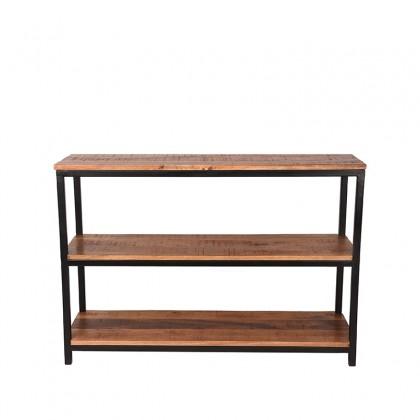 LABEL51 Sidetable Vintage - Rough - Mangohout - 110x35 cm
