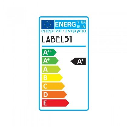 LABEL51 Spot Moto led - Burned Steel - Metaal - 3 Lichts