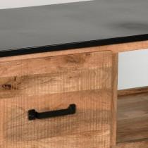 LABEL51 Salontafel Lock - Rough - Mangohout - 110x60 cm