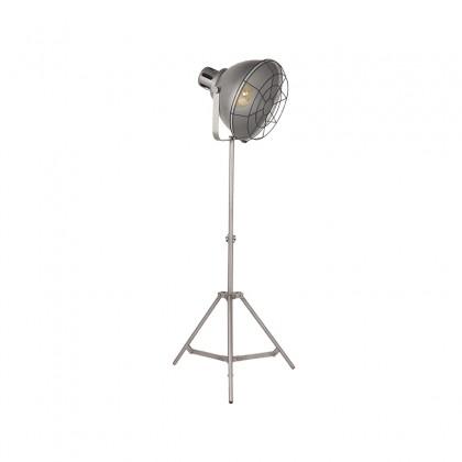 LABEL51 Vloerlamp Max - Metallic Grey - Metaal