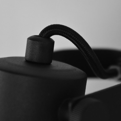 LABEL51 Wandlamp Bow - Zwart - Metaal - L