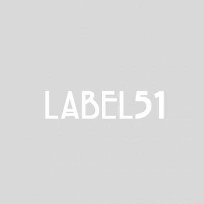 LABEL51 Vloerkleed Jute - Zwart - Jute - 150x150 cm