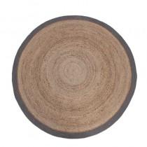LABEL51 Vloerkleed Jute - Grijs - Jute - 150x150 cm