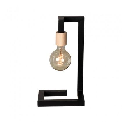 LABEL51 Tafellamp Loco - Zwart - Metaal