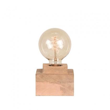 LABEL51 Tafellamp Block - Rough - Mangohout