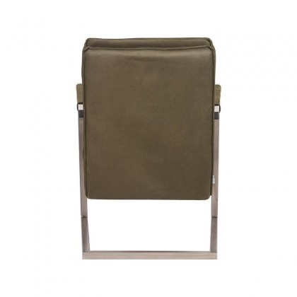 LABEL51 Fauteuil Jim - Army green - Microfiber