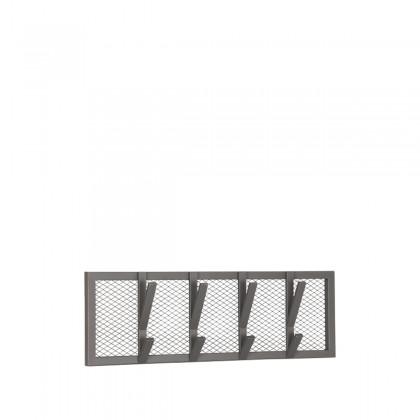 LABEL51 Kapstok Gruff - Burned Steel - Metaal - M